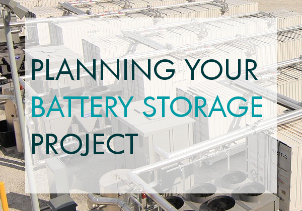 8 tips for gaining Planning Permission for Battery Storage